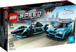 76898 LEGO® Speed Champions Formula E Panasonic Jaguar Racing GEN2 car & Jaguar I-PACE eTROPHY