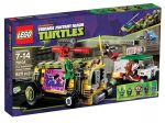 79104 LEGO® Teenage Mutant Ninja Turtles™ A Shellraiser utcai hajsza