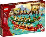 80103 LEGO® Szezonális készletek Sárkányhajó verseny