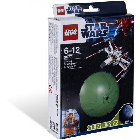 9677 LEGO® Star Wars™ X-wing Starfighter és Yavin 4 bolygó