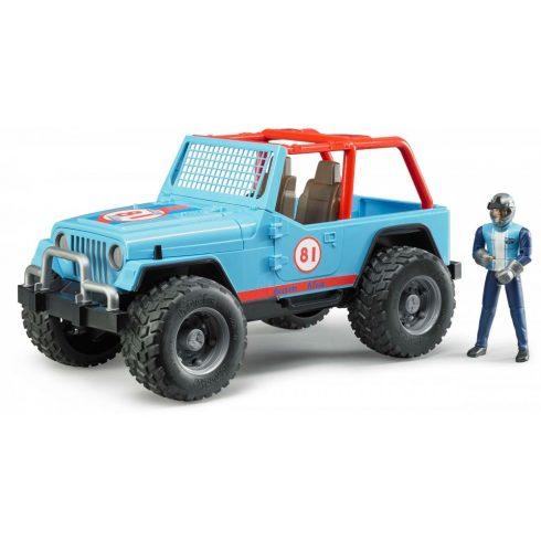 Bruder 02541 Jeep Cross Country terepjáró sofőrrel (kék)