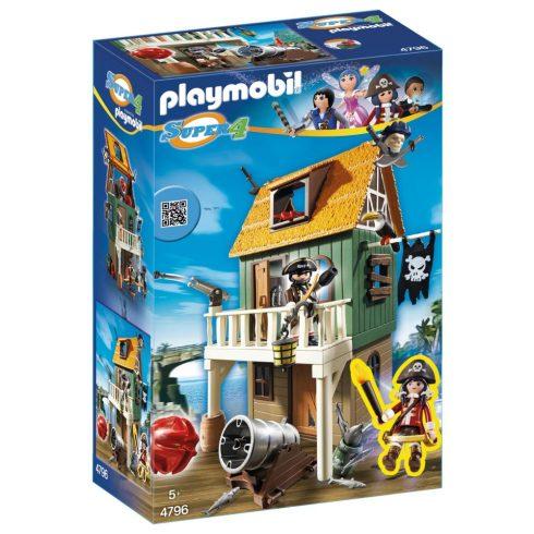 Playmobil Super 4 4796 Ruby a kalóztanyán