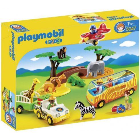 Playmobil 1.2.3 5047 Nagy Afrika Safari