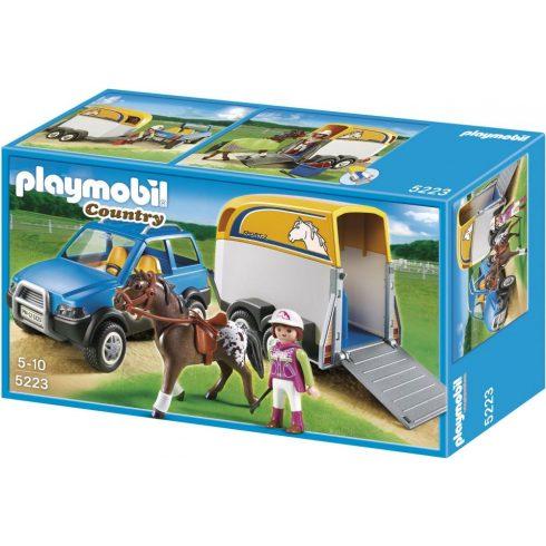 Playmobil Country 5223 Farm lószállító
