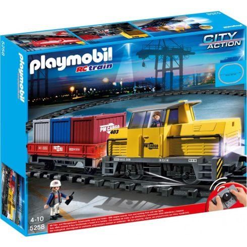 Playmobil City Action 5258 Tehervonat
