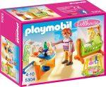 Playmobil 5304 Babaház - Babaszoba gyerekágyal