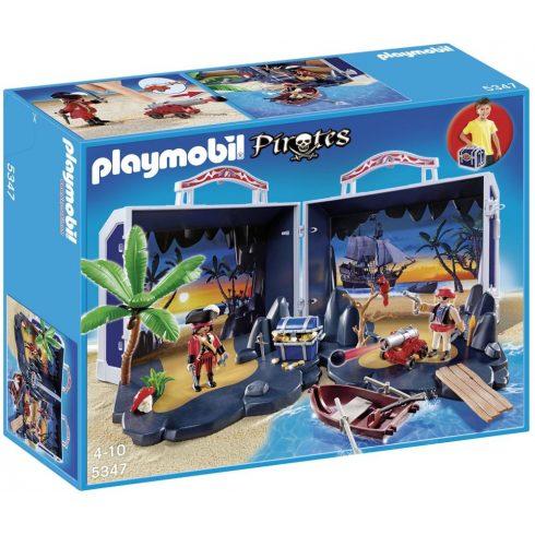 Playmobil Pirates 5347 Hordozható kalóz zátony