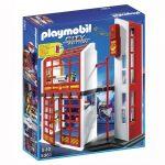 Playmobil 5361 Tűzoltó parancsnokság riasztás jelzővel