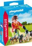 Playmobil 5380 Kutyasétáltató kislány