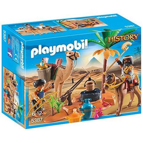 Playmobil History 5387 Sírrablók tábora