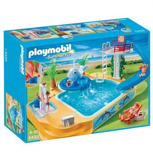 Playmobil Summer Fun 5433 Ugrótornyos élménymedence
