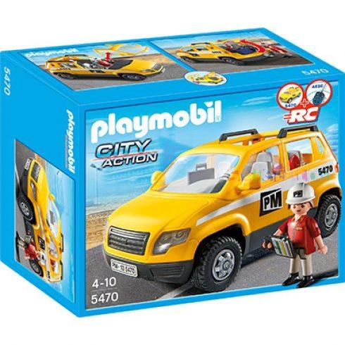 Playmobil City Action 5470 Építkezésfelügyelői személyautó
