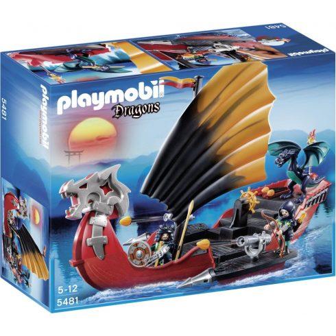 Playmobil Dragons 5481 Sárkánytestű hadihajó
