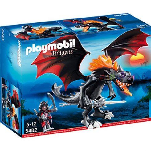 Playmobil Dragons 5482 Tűzokádó Lángtaraj LED toroktűzzel