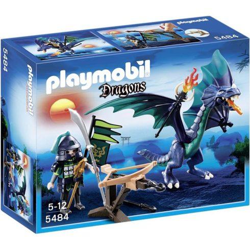 Playmobil Dragons 5484 Gallérosnyak a gyíksárkány