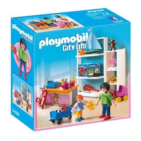 Playmobil City Life 5488 Kölyökálom játékbolt