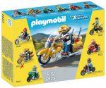 Playmobil 5523 Aranyló túramotor