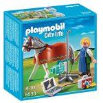 Playmobil 5533 Röntgenre várró lovacska