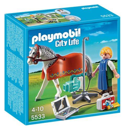 Playmobil City Life 5533 Röntgenre várró lovacska