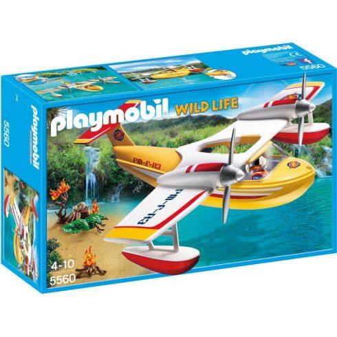 Playmobil Wild Life 5560 Vízbombázó hidroplán