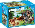 Playmobil 5561 Hiúzcsalád és temészetfotós