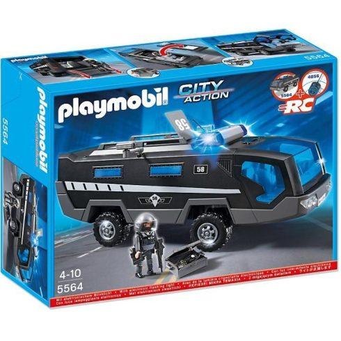Playmobil City Action 5564 Páncélozott kommandós jármű
