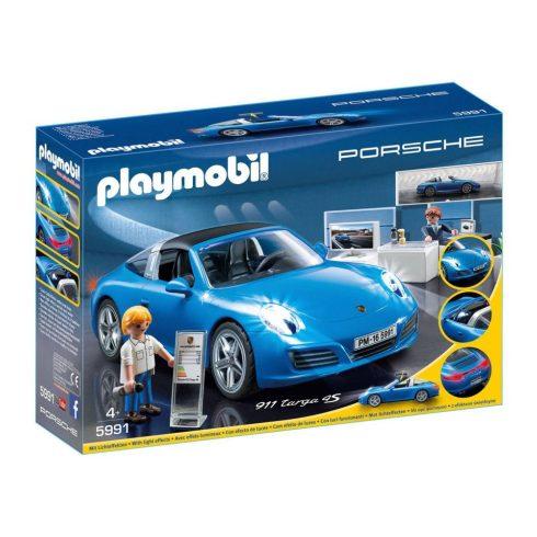 Playmobil City Action 5991 Porsche 911 Targa 4S