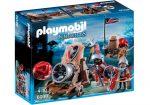 Playmobil 6038 Tűzgolyós faltörő, sólyom-lovagokkal