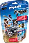 Playmobil 6165 Kalóz fekete ágyúval