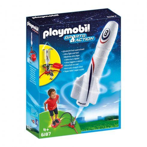Playmobil Sports & Action 6187 Én a rakétakilövő