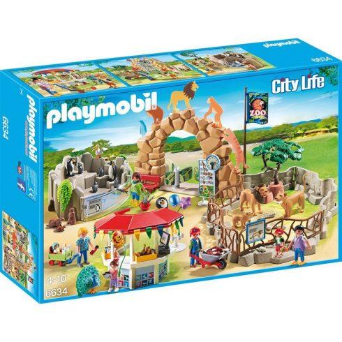 Playmobil City Life 6634 Nagy állatkert