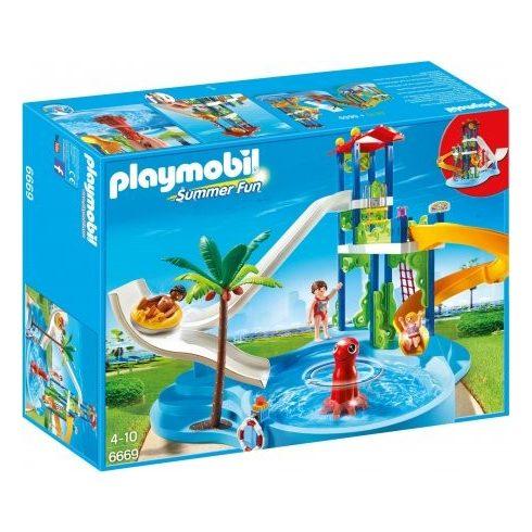 Playmobil Summer Fun 6669 Polipkerengő vizicsúzdapark
