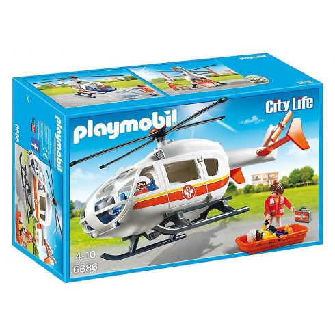 Playmobil City Life 6686 Légimentők