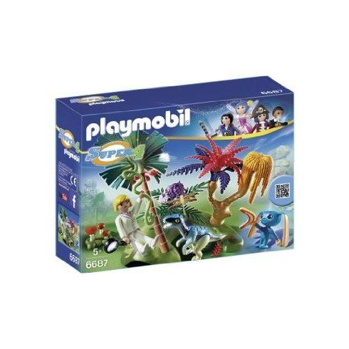Playmobil Super 4 6687 Űrlakó a rejtett szigeten