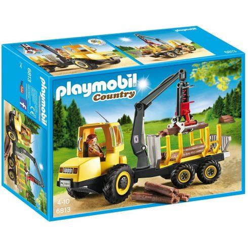 Playmobil Country 6813 Rönkszállítás