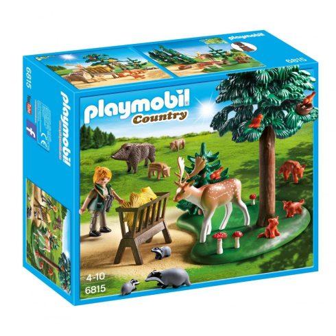 Playmobil Country 6815 Vadlesen az etetőnél