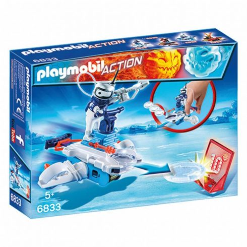 Playmobil Action 6833 Icebot célzókoronggal