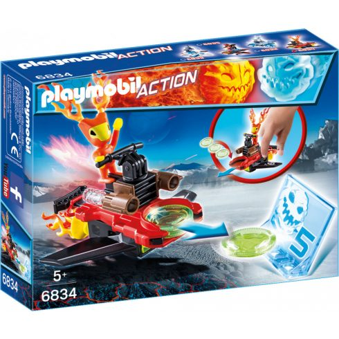 Playmobil Action 6834 Sparky, célzókoronggal