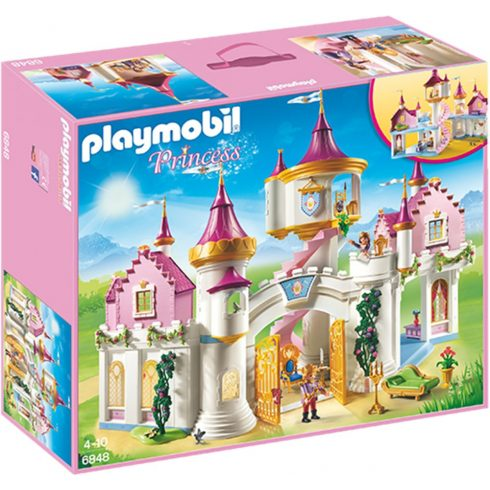 Playmobil Princess 6848 Playmobil, Prinzessinnenschloss 6848, Princess, 58,5x18,5x50 cm, 6848