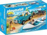 Playmobil 6864 Szörf szállító autó motorcsónakkal