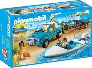 6f47b18009 Playmobil 6864 Szörf szállító autó motorcsónakkal