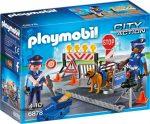 Playmobil 6878 Rendőrségi blokád