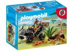 Playmobil 6939 Homokfutón száguldó orvvadász