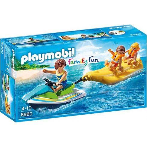 Playmobil Family Fun 6980 Jetski banáncsónakkal