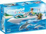 Playmobil 6981 Merülés motorcsónakkal