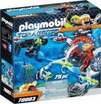 Playmobil Top Agents 70003 Titkos ügynökök tengeralattjárója