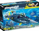 Playmobil Top Agents 70005 S.H.A.R.K. csapat pusztító fúrója