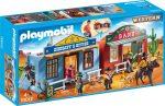 Playmobil 70012 Hordozható western város