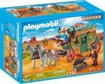 Playmobil 70013 Western lovaskocsi
