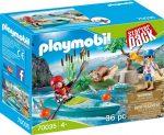 Playmobil Family Fun 70035 Kenu edzés - kezdő csomag